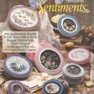 Plastic Canvas Pattern Booklet-Victorian Sentiments-8 Pretty Designs-10 Ct.