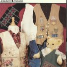 Cross Stitch Pattern Booklet-Vested Stitches by Hickory Hollow