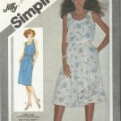 Vintage Pattern-Misses Jiffy Pullover Dress With Slim Or Full Skirt  in Size  14