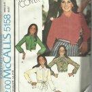 Vintage Pattern-Marlo's Corner-Carefree-Misses Set of Blouses-Size 12, Bust 34