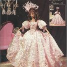 "Crochet Doll Dress Pattern-11 1/2"" Fashion Doll-1830 Jeweled Engagement Gown"