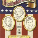 Presidential Redwork-A Stitch in Time-42 Presidents To Draw-Embroider-Quilt-Pain
