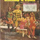 Vintage Hippy Crochet Pattern Leaflet-Shrinks N Tanks-Tops-Flowers-Hats-Handbags