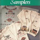 Cross Stitch Leaflet-Houses & Samplers By Cathy Livingston-Stitch Onto Sweaters
