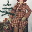 "Doll Pattern-30"" Raggedy Andy Doll-Ragamuffin Randy-Hanging By A Thread"