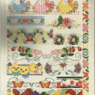 Cross Stitch Pattern Booklet-A Whole Bunch of Borders-25 Designs