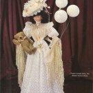 "Crochet Doll Dress Pattern-11 1/2"" Fashion Doll-1907 Coney Island Costume"