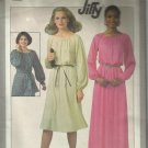 Vintage Jiffy Pattern-Misses Jiffy Pullover Dress in Two Lengths-Sz 6-8