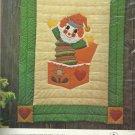 Vintage Quilt Pattern-Gingham Goose-Jack 'N The Box Quilt-Fast Fun Applique Patt
