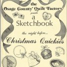 The Osage County Quilt Factory Presents A Sketchbook-Christmas Quickies-Pin Cush