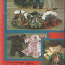 "Doll Pattern-K. P Kids-Designer Wardrobe Collection for 12"" K. P. Kids Cloth Dol"