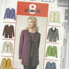 Pattern-8 Great Looks One Easy Pattern-Misses Cardigan & Top in Sizes Med. 12-14