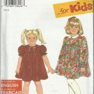 Pattern It's So Easy For Kids-Child's Dress-Sizes 2-3-4-5-6-6X