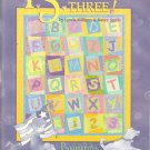 Quilt Pattern Booklet-P.S. I Love You Three-By Lynda Milligan & Nancy Smith