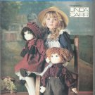 "Vogue Craft Pattern-Linda Carr-22"" Stuffed Dolls & Clothes-Shoes For Boy & Girl"