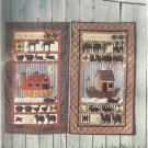 Quilt Pattern-They Came Two By Two-Peaceful Heart Designs-Wall Quilts-Noahs Ark