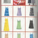 Butterick Pattern-Nine Sew Fast & Easy-Misses Dress in Sizes 12-14-16   Summer