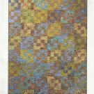 "Quilt Pattern-Eclipse By Janine Burke-Fat Quarter Friendly- 48"" x 64"""