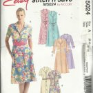 McCall's Pattern-Easy Stitch N Save-Misses Dress & Bias Sash in Sizes 8-10-12-14~Summer~