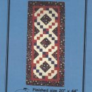 "Quilt Pattern-Irish Chain Table Runner-Calico Cat Patterns-Finished Sz 20"" x 44"""