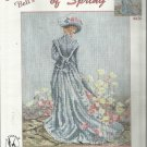 Cross Stitch Pattern-Marty Bell's Elegance of Spring-Beautiful!!!