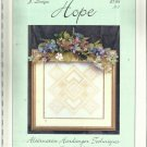Cross Stitch Pattern-J Designs-HOPE-Alternative Hardanger Techniques