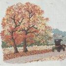 Cross Stitch Pattern-When Autumn Leaves Start To Fall-Art Ventures
