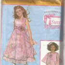 Pattern-Daisy Kingdom Sweet Memories-Child's Dress & Capelet- 3-4-5-6
