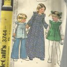 Vintage Pattern-Carefree Children's Granny Dress or Jumper and Pants-Size 2