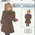 "Pattern-Daisy Kingdom-Girl's Dress & Doll Dress For 18"" Doll-Sz 7-14   Christmas"