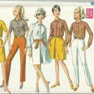 Vintage Pattern-Misses Shirt-Skirt and Pants in Size 10, Bust 32 1/2