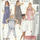TODAY'S MOTHER Pattern-Maternity Dress-Jumper-Top-Pants-Shorts- Sz 12-14-16