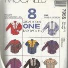 Men's Pattern-8 Great Looks-Men's Shirts-Sz Ex-Large  46-48
