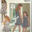 Butterick Pattern-Cynthia Rowley-Fast & Easy-Girl's Dress- Sizes 7-8-10