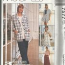 Women's Day McCall's Pattern-3 Hour Separates-Misses Jacket-Pants-Shorts 20-24