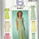 Pattern-Six Sew Easy-Misses Easy Dress in Sizes 8-10-12   Easter-Spring-Summer