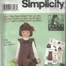 Simplicity Pattern-Patty Reed Designs-Child's Jumper-Bag & Hairbow-Sz 5-6-7-8