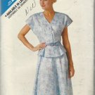 Pattern-See & Sew-Very Easy Misses Top & Skirt in Sizes 6-8-10  SUMMER