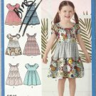 Simpicity Pattern-Easy to Sew-Child's Dresses  3-8