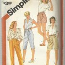 "Half Size Pattern-Set of Pants in Four Lengths In Half Sizes  20 1/2""-24 1/2"""