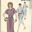 Kwik Sew Pattern-Misses Knit Dress In Sizes XS-S-M-L  Classic Style