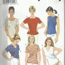 Plus Size Pattern-Misses Summer Top in  Sz 14-16-18   SUMMER