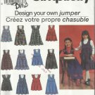 Simpicity Pattern-Design Your Own Jumper-Child's Jumper in Two Lengths  3-6