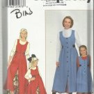 Simplicity Pattern-Child's and Misses Jumper & Petticoat-Sizes XS-XL,  3-8