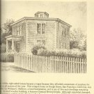 Historic Homes-America's Past in Pencil-A Sketchbook of Historic Homes