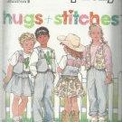 Simplicity Pattern-Hugs + Stitches-Child's Pants-Skirt-Vest & Knit Top-Sz 2-6X