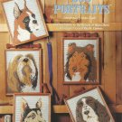 Plastic Canvas Pattern Booklet-Dog Portraits  ~~~~Christmas In July~~~~