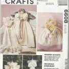 "Christmas In July-McCall's Crafts-Heavenly Accents-25""-11""-9"" Angels & Dolls"