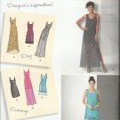 Simplicity Designer Inspiration Pattern-Misses Dress With Length Variation-16-24