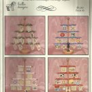 Cross Stitch Pattern-Beaded Treasures-Folk Art-Stockings-Sewing-Quilts